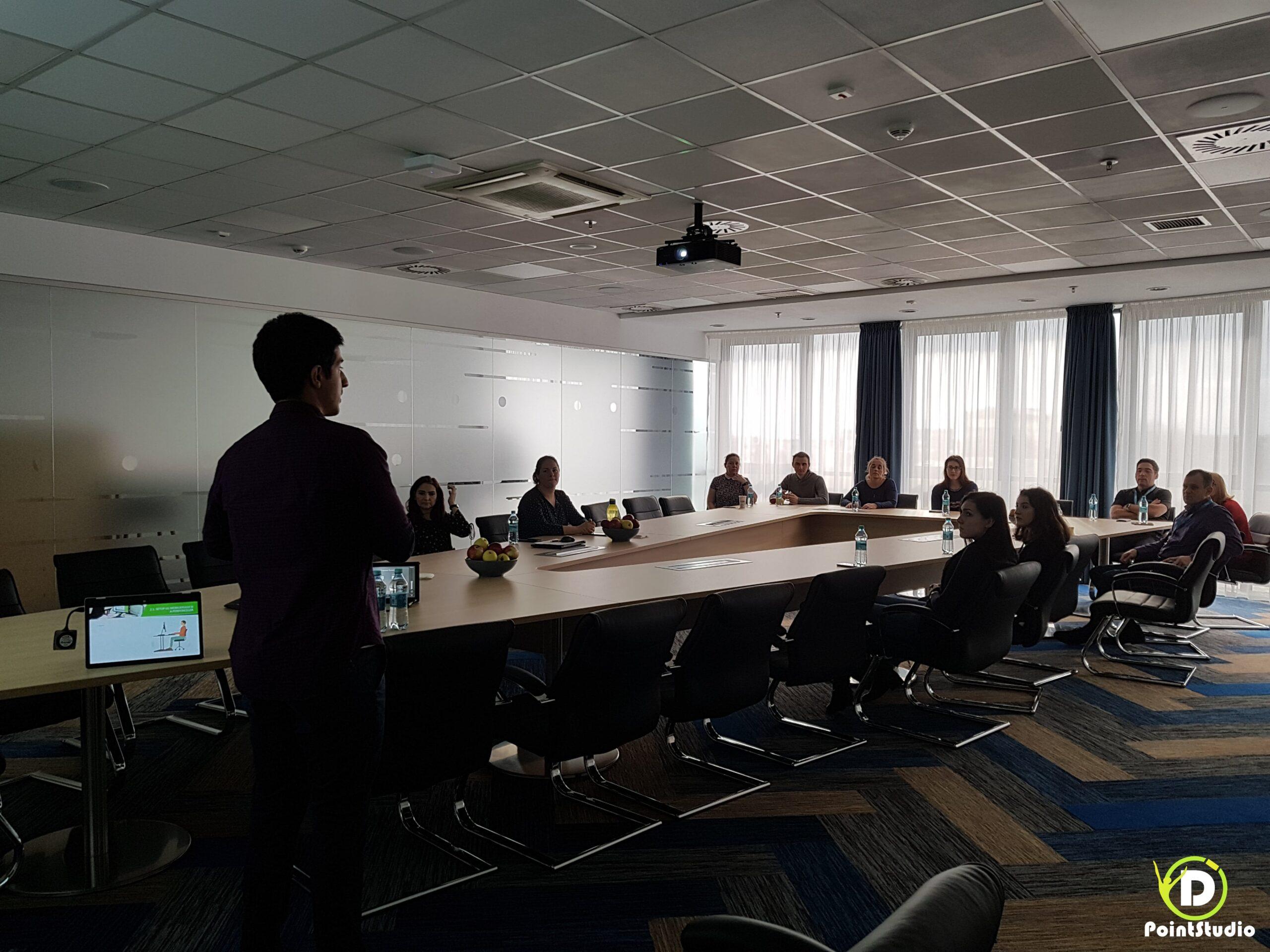 Workshop Postura la Birou - at Flex Plant