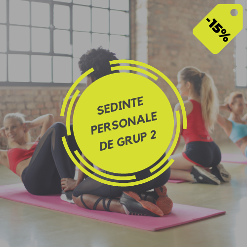 SEDINTE PERSONALE DE GRUP / 2 PERSOANE