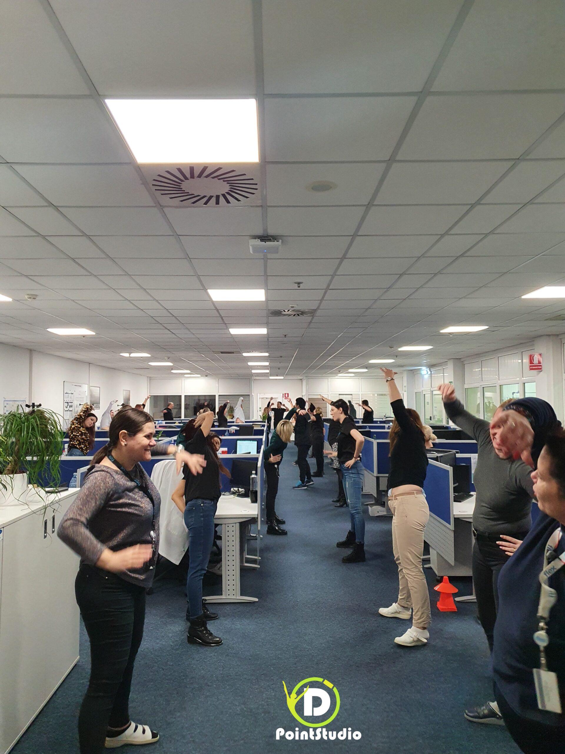 Team Work - at Flex Plant