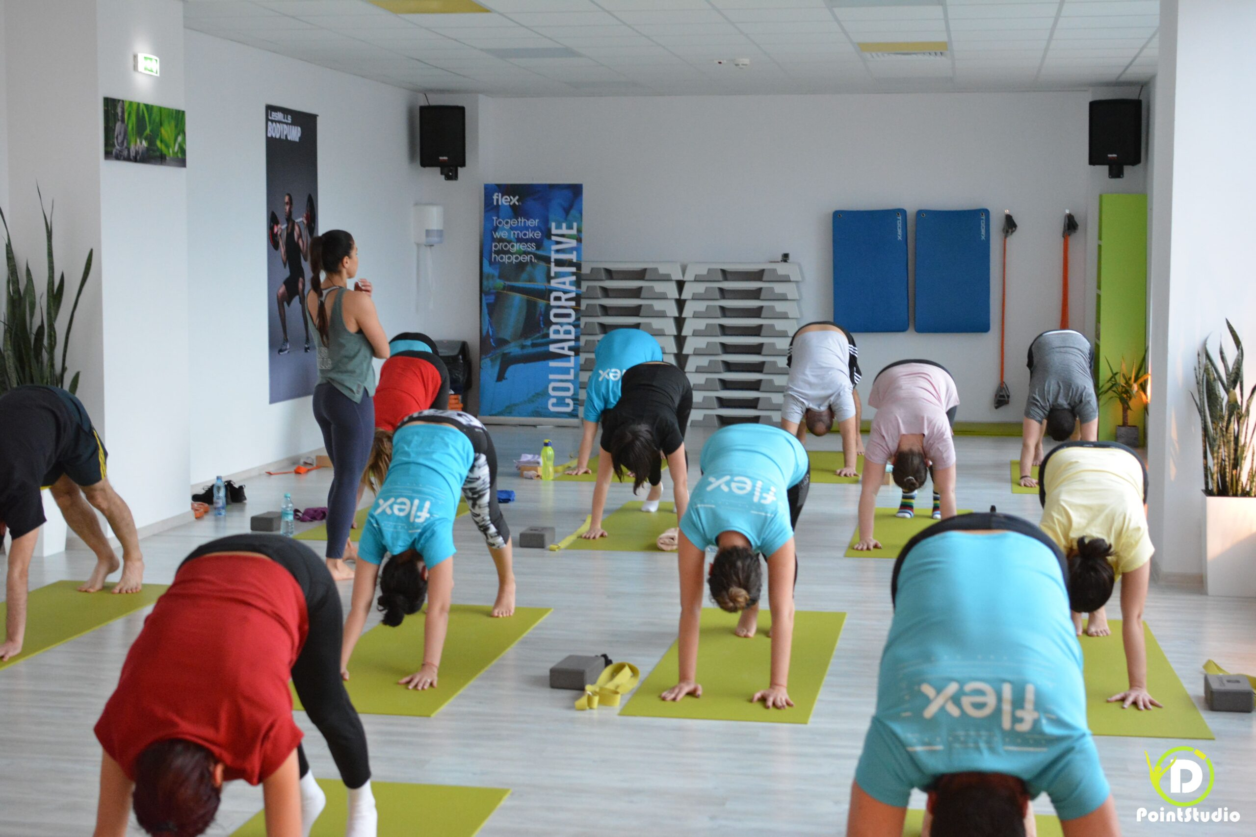 Yoga & Office Works - Flex at D' Point Studio