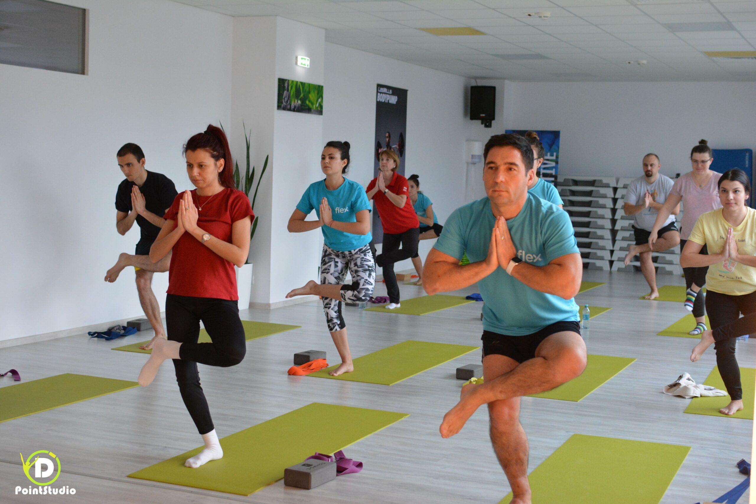 Yoga & Office Works - Flex at D' Point Studio