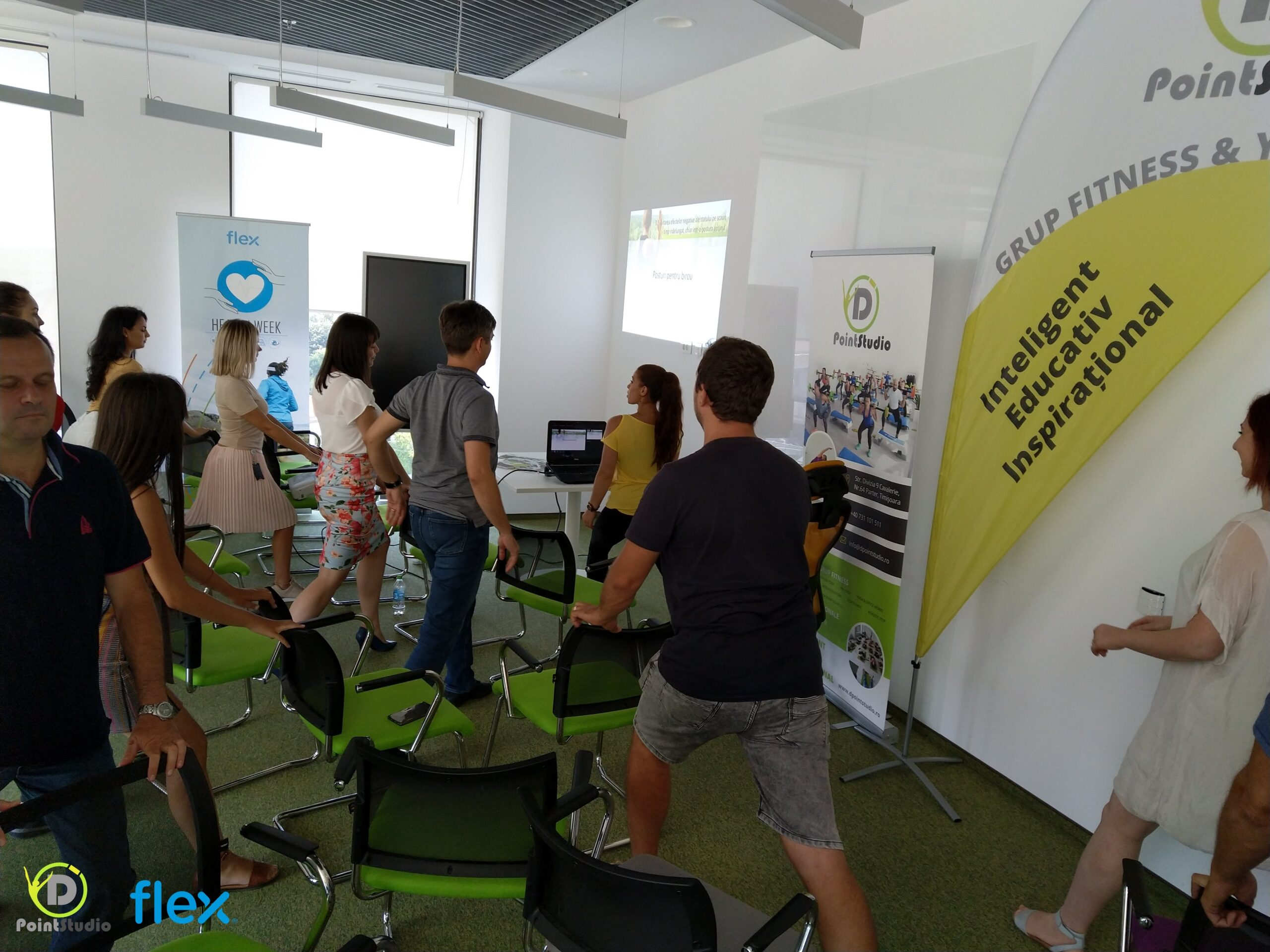 Workshop Postura la Birou - at Flex Openville