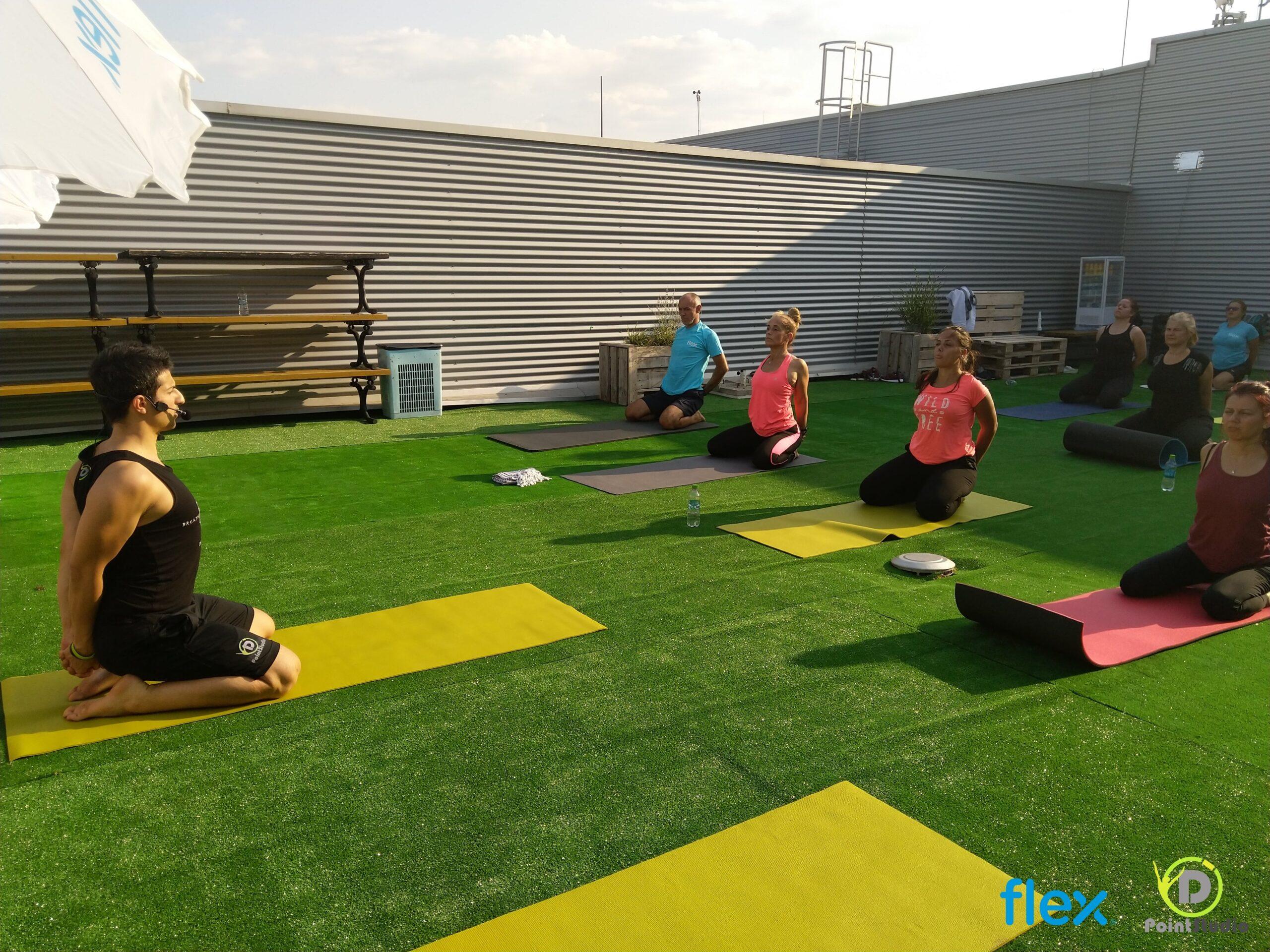 Yoga & Office Works - at Flex Plant