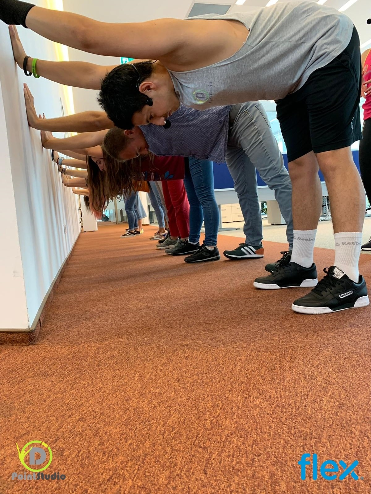 Gathering & Team Work - at Flex Openville